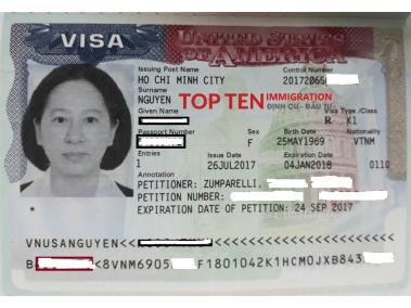 Chị Thúy K1 - hôn phu thê đi Mỹ, interview: 24/07/2017